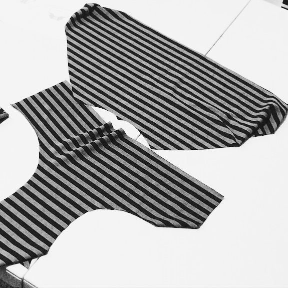 Stripes Underwear // Handmade by IamERVHAN
